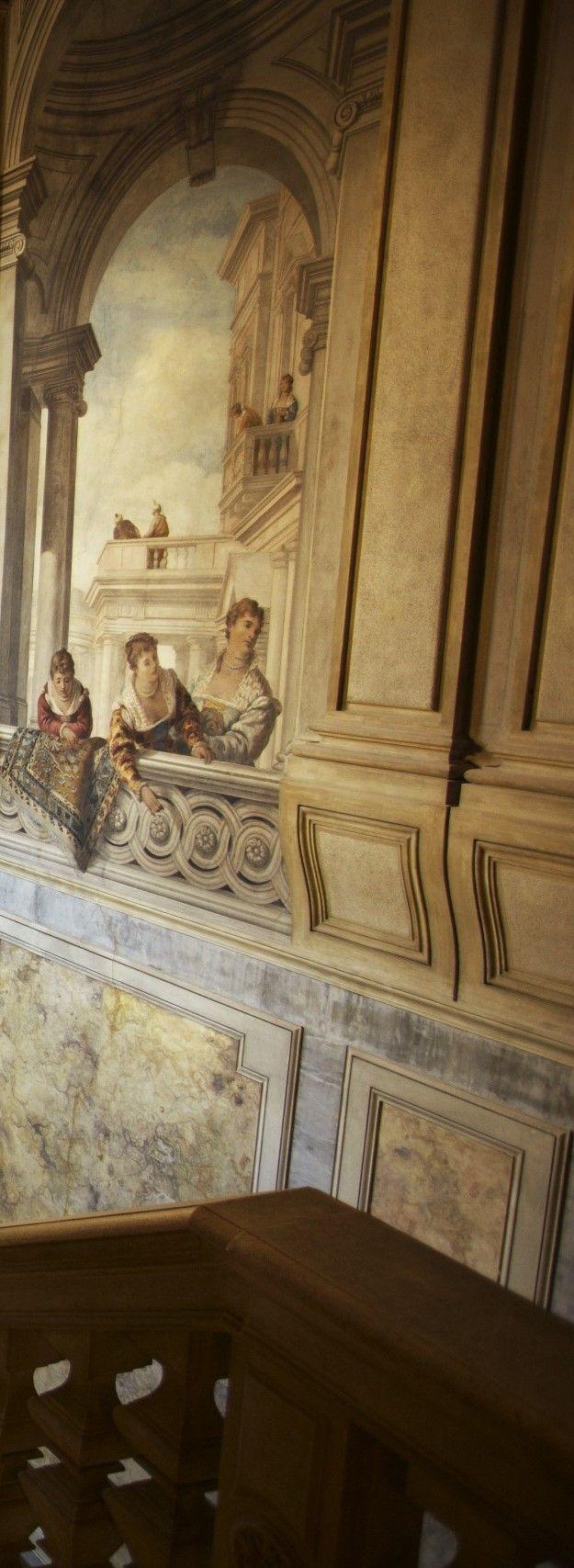Interior Murals ~ Aman Canal Grande Venice