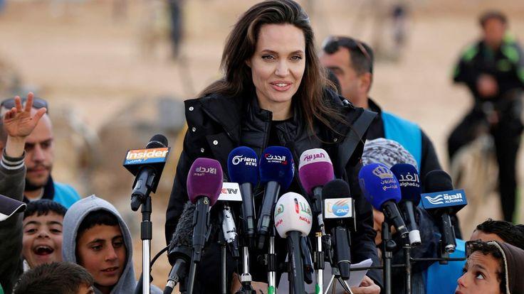 FOX NEWS: Angelina Jolie describes 'soul-destroying' visit to Syrian refugee camp