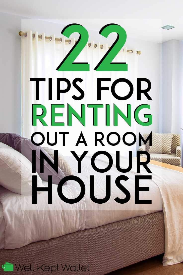 22 Tips For Renting Out A Room In Your House Renting Out A Room
