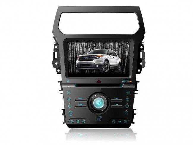 Autoradio Ford Explorer  Din Gps Bluetooth Divx Dvd Mp Cd Usb Sd Rds Ipod