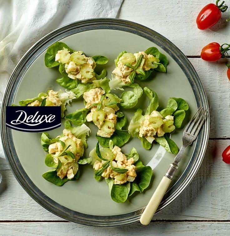 Jajeczna sałatka z selerem i ziołami #lidl #przepis #salatka #seler #jajko #ziola