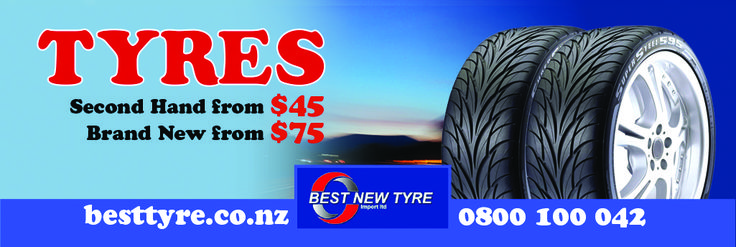 BEST TYRE - Cheap Tyres in Auckland  At Best tyre, We sell quality tyres on cheap prices in Auckland, NZ. We offer the free fitting and alignment services with the purchase of pair of tyres. Save some money on buying good tyres, Call us today - 0800 100 042 OR visit www.besttyre.co.nz