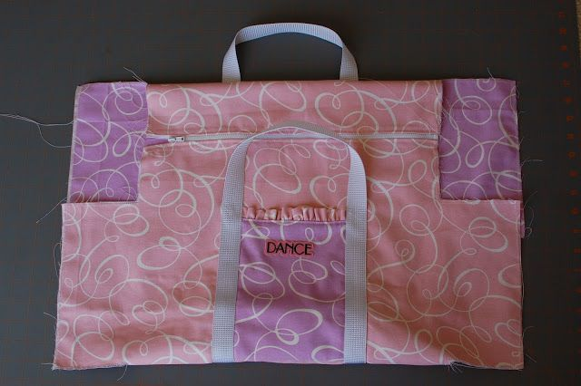 Love this dance bag!  Ruffle Duffle!!  Perfect for Lily for Dance classes.