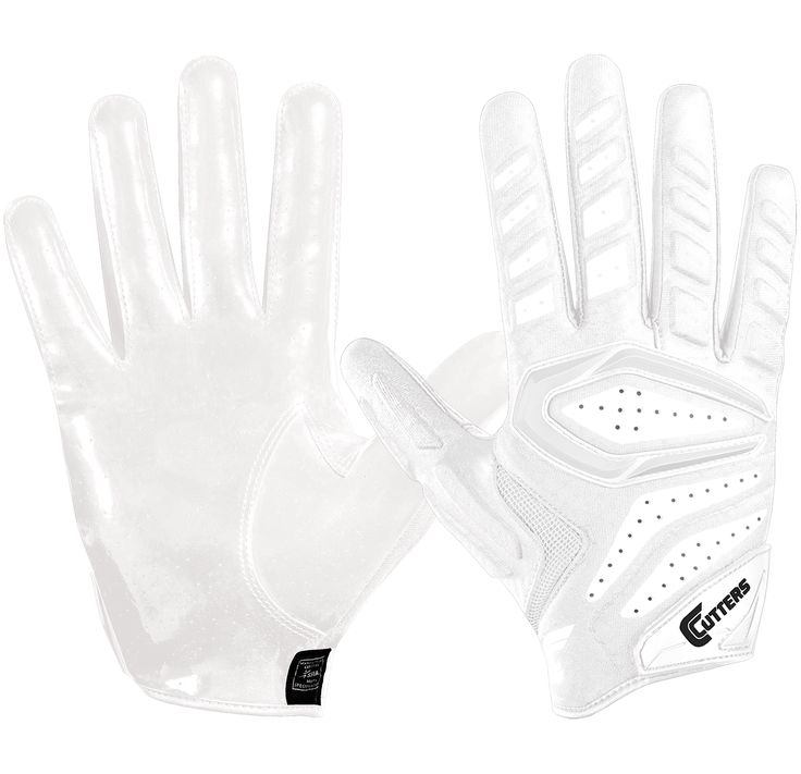 Cutters Adult Gamer 2.0 Padded Receiver Football Gloves