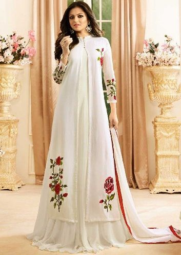 2b6d01120 15 Latest And Stylish Party Wear Kurtis For Girls
