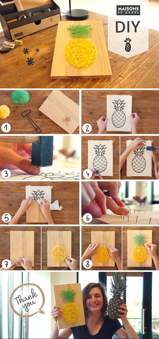 Comment créer une déco murale en fil tendu ?