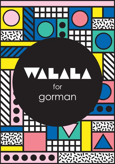 print & pattern blog - Camille walala for Gorman