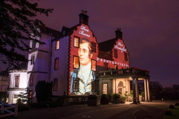 Prestonfield House, un hôtel et restaurant de luxe à Édimbourg, s'allume pour les Burns Night en janvier © Kenny Lam