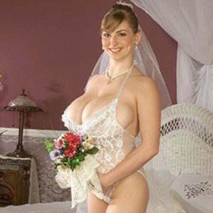 Big boob bride russian