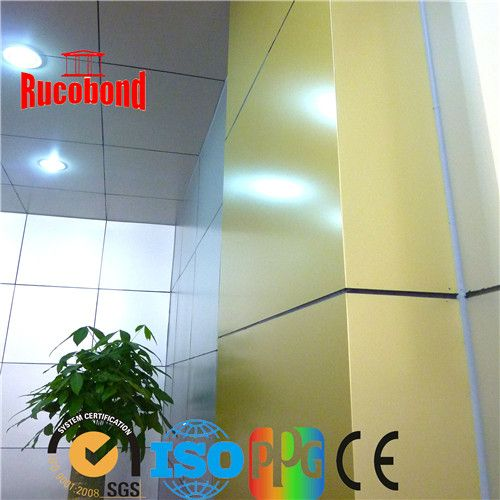 Guangzhou Building material Aluminum Composite Panel/ACP/ACM Cladding wall