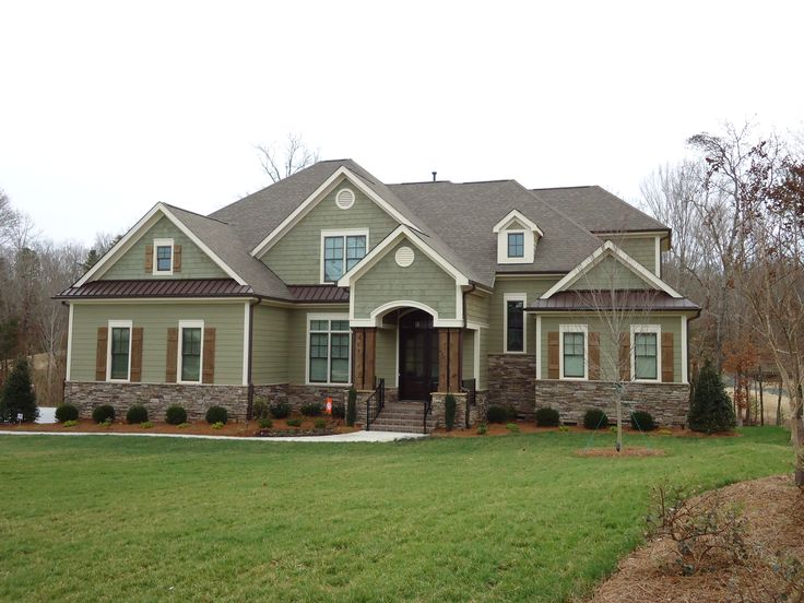 Exterior Paint Colors For House With Brown Roof Stones