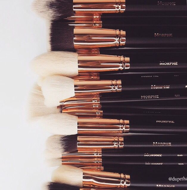Morphe Rose Gold Brushes (R38, R7, R13, R33, R36, R39, R4, R40, R41, R42, R45)
