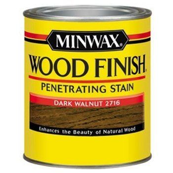 Minwax 70012444 Wood Finish Penetrating Stain, quart, Dark ...
