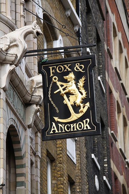 Fox and Anchor, Charterhouse Street, EC1