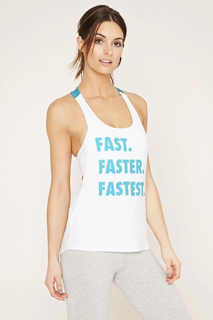 Active Fast Graphic Tank #21active