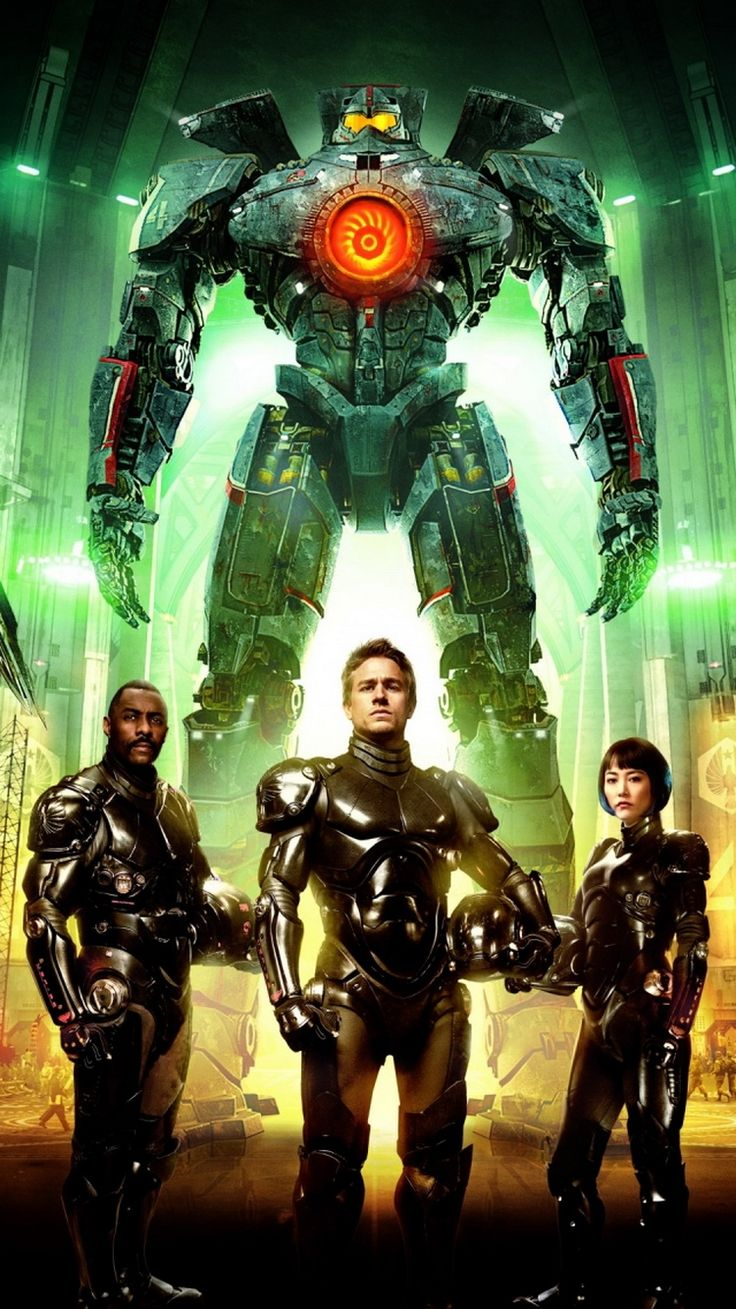 Pacific Rim Characters iPhone 6 Wallpaper