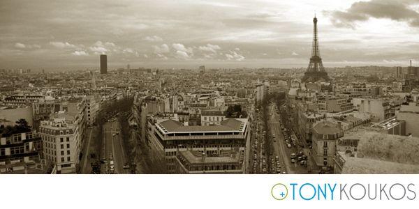 Paris, France, city, view, skyline, places, Eiffel Tower, Europe, Tony Koukos, Koukos