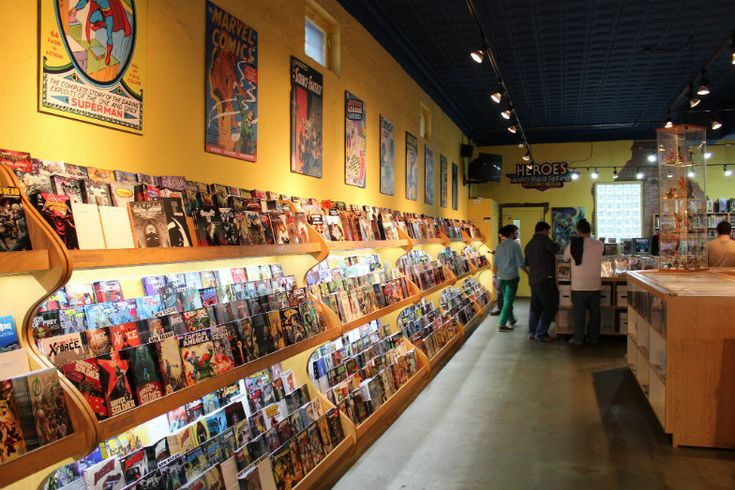 Man Cave Store Charlotte Nc : Best comics display images on pinterest comic book