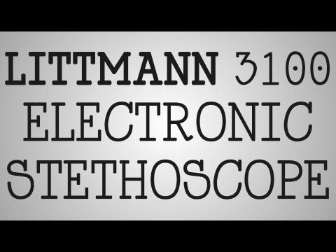▶ Product Review | Littmann 3100 Electronic Stethoscope - YouTube