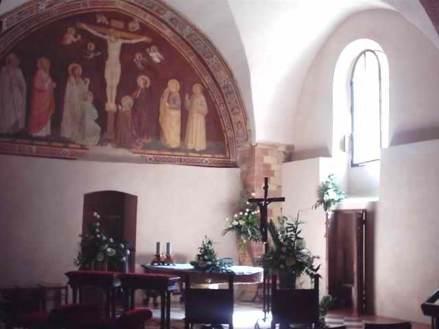 Capella di Le Reliquie, S. Francesco di Asissi
