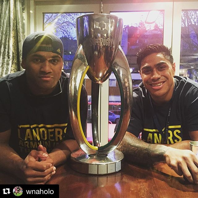 Still celebrating #SuperRugbyFinal  #Repost from @wnaholo:  We really did it. 2015 Super Rugby Champs ✊ #Landers2015 #SuperRugby #happydays #brotherhood #HighlandersFamily #Champs