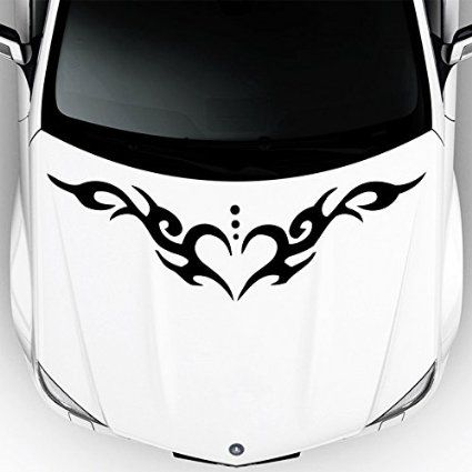 Best Stickers On The Car Hood Images On Pinterest Cars Hoods - Best automobile graphics and patterns