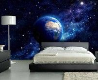 Fotomurale Terra dalla Galassia | TNT