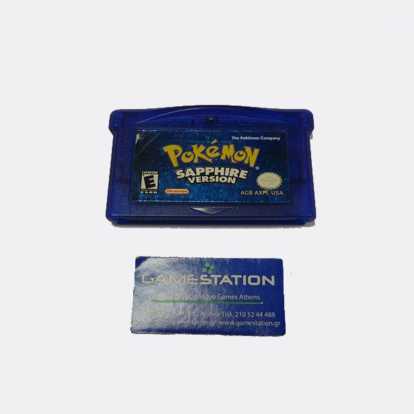 Pokemon Sapphire Version Gameboy Advance  Skroutz.gr
