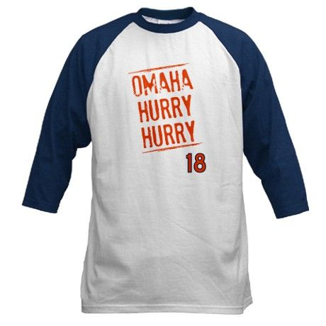 Omaha Hurry Hurry Long Sleeve- #18 On Back!