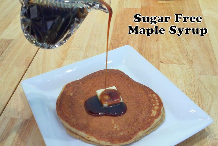 0 net carb sugar free maple syrup-- homemade! Make with your choice of sweetener. Way better than store bought sugar free maple syrups!