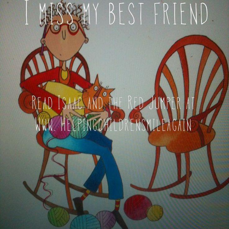 Losing a best friend is hard.