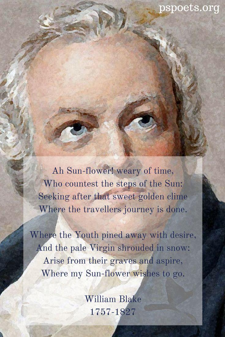 Sunflower Poem | William Blake | Philosopher's Stone Poetry | Nature Poems | Romanticism | 18th century
