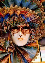 Venetian masked ball.