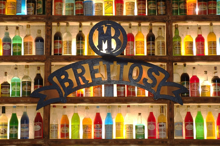 Brettos, Plaka    One of the oldest distilleries in Athens which now is a bar with 30 liquer flavors and a lot of wines!