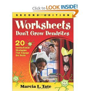 Worksheets Worksheets Don T Grow Dendrites 31 best images about engagementmarcia tate based info on worksheets dont grow dendrites 20 strategies for teaching that engage students with active