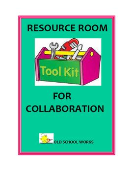 Resource Room Tools Kit for Collaboration
