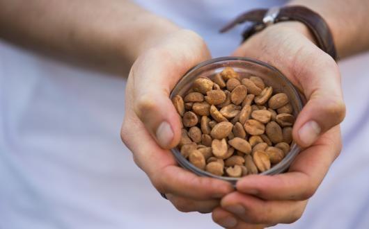 Chocolate Peanut M&Ms