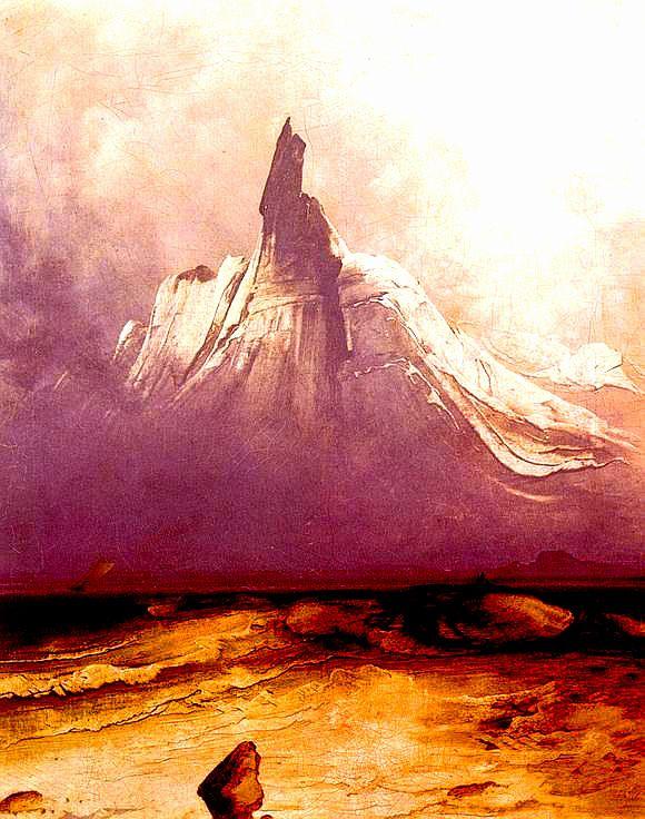 nigra-lux:  BALKE, Peder (1804-1887)Stetind i tåke1864Oil on canvas, 71.5 × 58.5 cmNational Gallery (Norway)Ed. Orig.