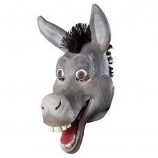Animal Overhead Mask - Comical Donkey ( Latex )