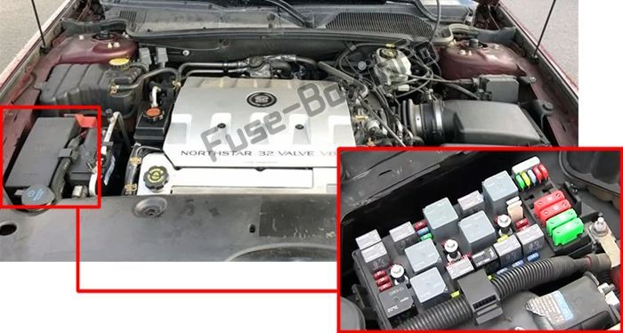 Pin On Cadillac Deville 2000 2005 Fuses And Relays