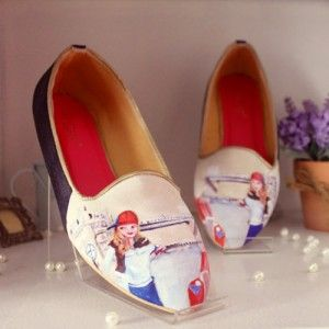 Sepatu Lukis London Girl Loafer Biru IDR255.000 SKU SB045 SIZE 36-41  Hubungi Customer Service kami untuk pemesanan : Phone / Whatsapp : 089624618831 Line: Slightshoes Email : order@slightshop.com