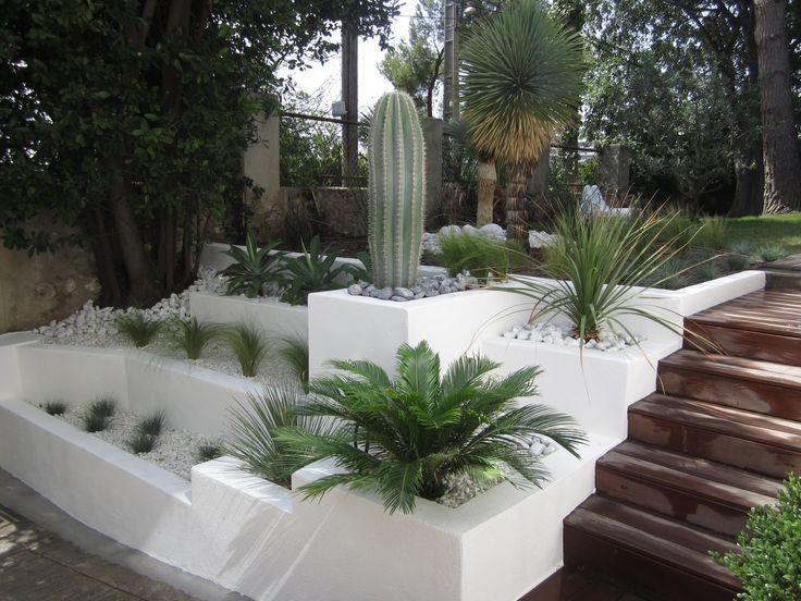 Deco jardin mediterraneen auto entrepreneur paysagiste | Reference ...
