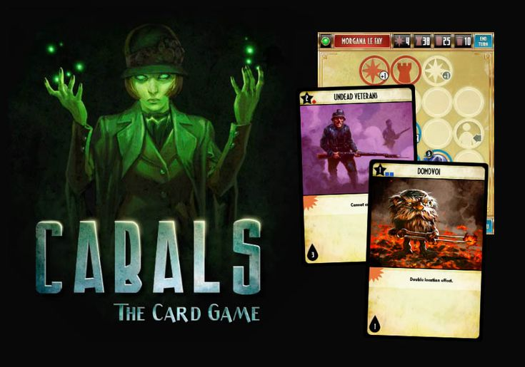Cabals: The Card Game - again, not only on iOS, but Android too.