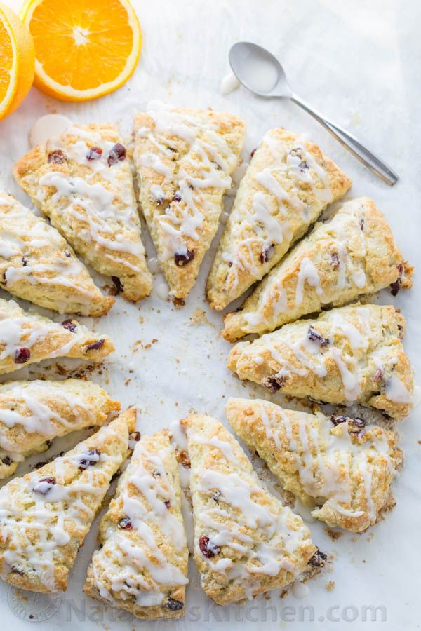 The texture of these cranberry orange scones is phenomenal – billowy soft and crumbly. My sister hosted a ladies brunch and these were my contribution. Everyone loved that these scones weren't overly sweet...