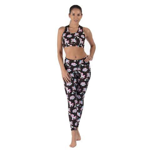 Space Unicorns Activewear #Activewear #Gymwear #FitnessLeggings #Leggings #Tikiboo #SpacePrint #Running #Yoga #Galaxy #GalaxyPrint