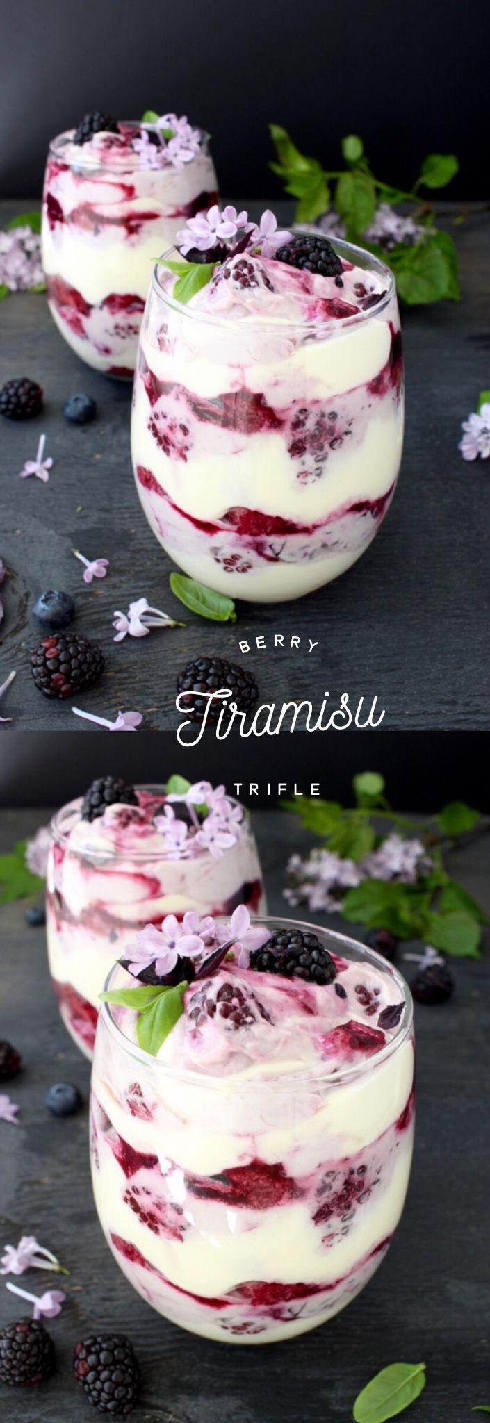 Berry Tiramisu Trifle Recipe   CiaoFlorentina.com