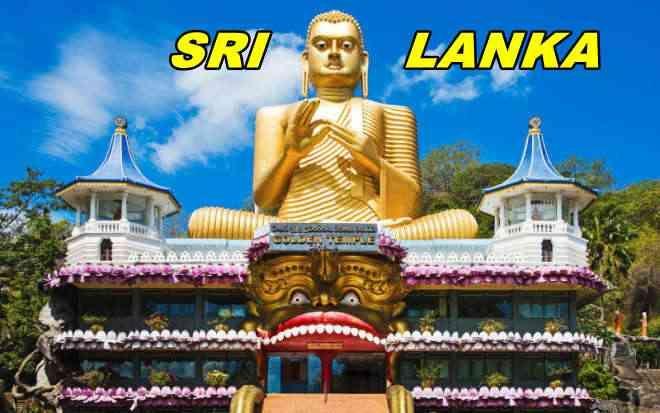 Sri Lanka - Kultainen temppeli