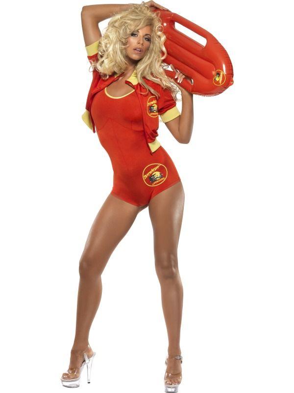 Baywatch Fancy Dress Costume Woman's