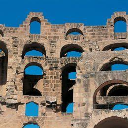 Amphitheatre of El Jem, Tunisia  UNESCO ©Editions Gelbart / Jean-Jacques Gelbart