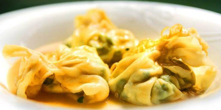 OPPSKRIFT PÅFYLT PASTA: Slik lager du fylt pasta. Italiensk mat på sitt beste.